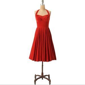 Anthropologie Girls from Savoy Rodna Halter Dress